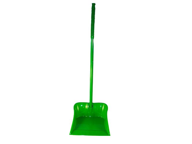 Совок пластиковый с высокой ручкой