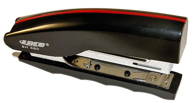 Степлер № 10 Laco 20 л. (SH480) вертикальный ассорти