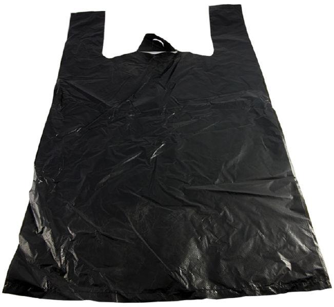 Пакет Майка (30 х 55 см.) чёрные