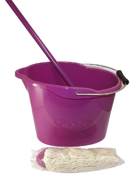 Комплект для влажной уборки МОП Ориджинал аметистовый
