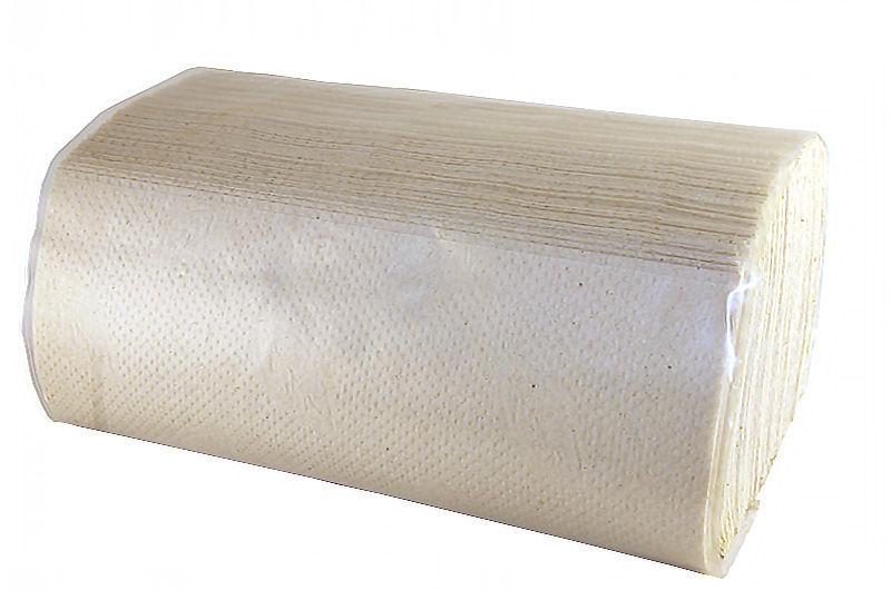 CABARE полотенца бумажные листовые макулатурные V-сл, 1-сл. Эконом 200 л. 23*20 см