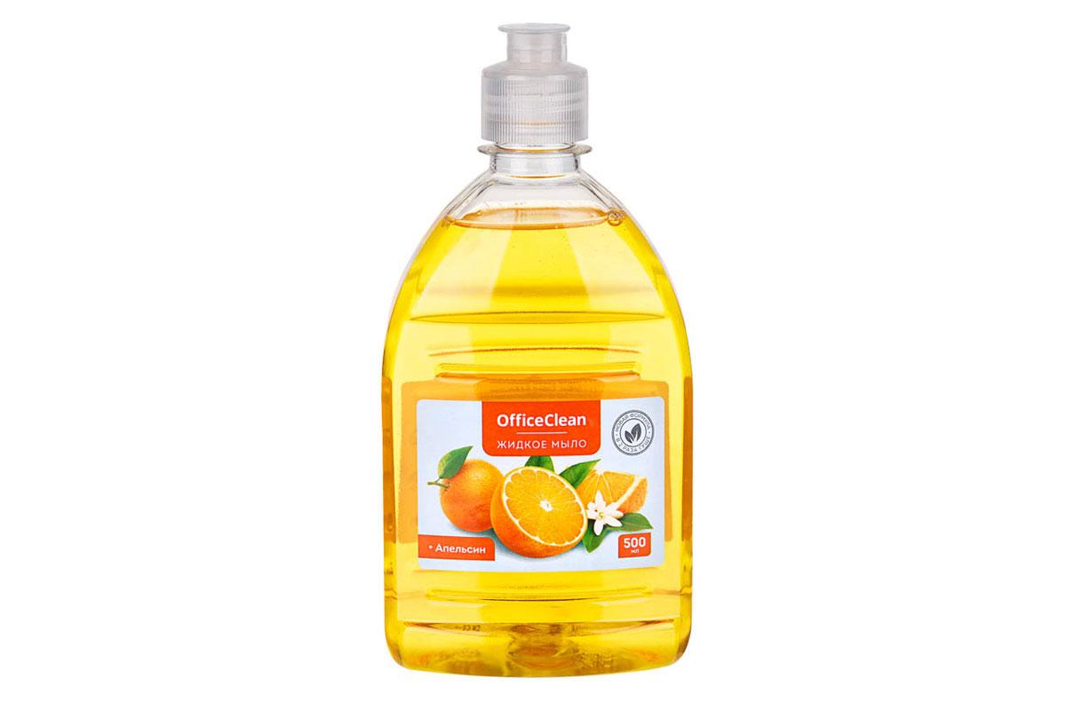 OfficeClean жидкое мыло Апельсин 500 мл. пуш-пул