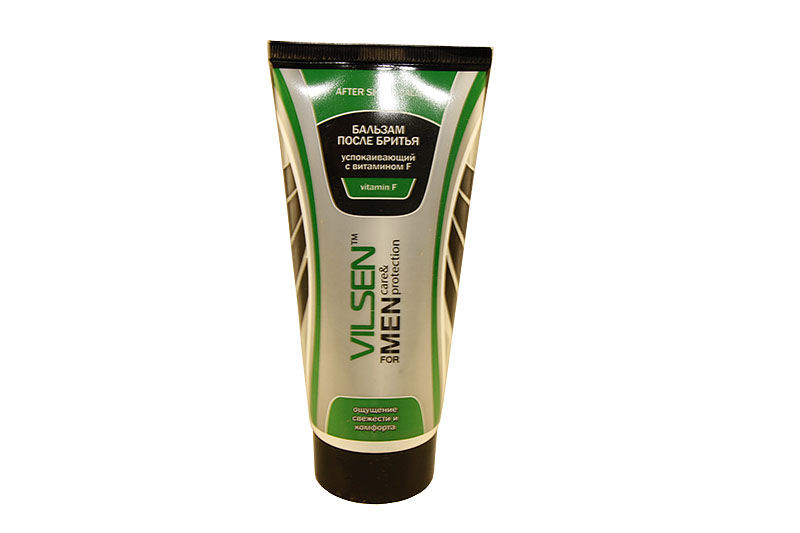 Vilsen for men Бальзам после бритья (туба)150 мл успокаивающий с витамином F