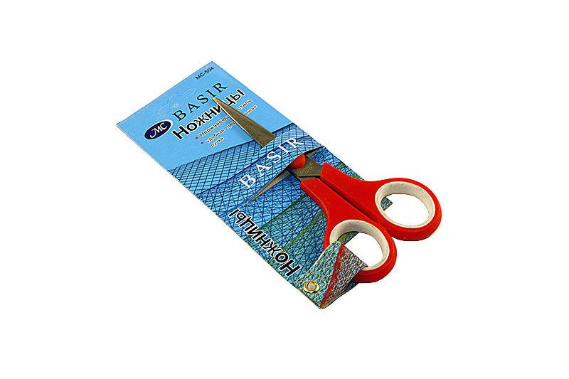 Ножницы универсальные Miraculous 14,0 см. (пластиковые ручки с резиновыми вставками)