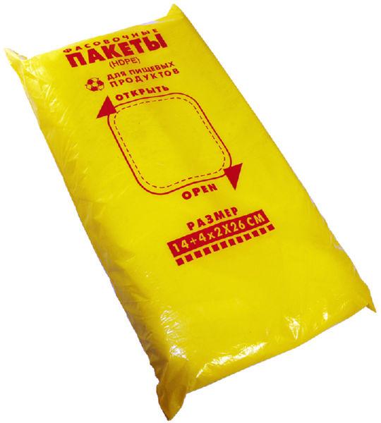 Пакет фасовочный (14+4х2х26) 1000 шт.