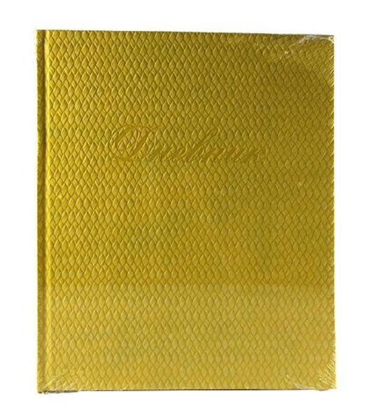 Дневник 5 - 11 класс в кожзам. переплете фактура желтый