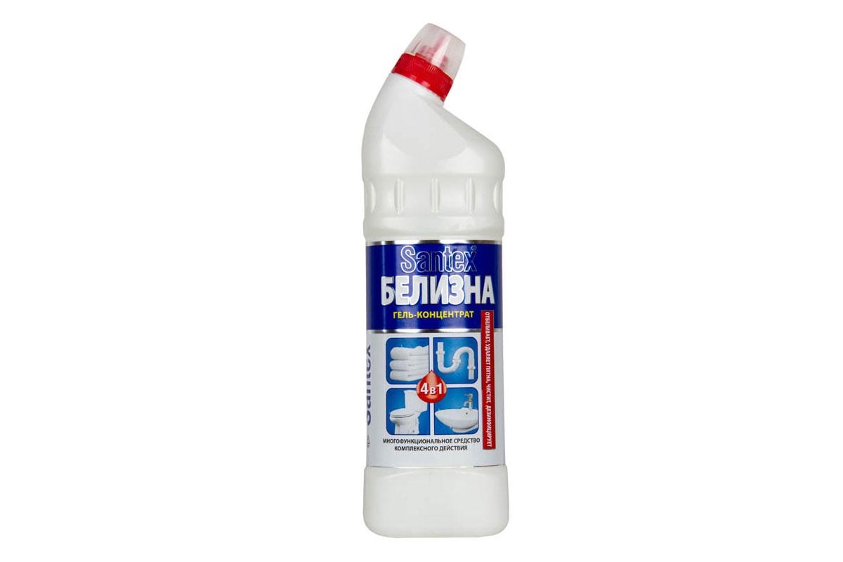 SANTEX БЕЛИЗНА гель-концентрат  1000 гр  4в1