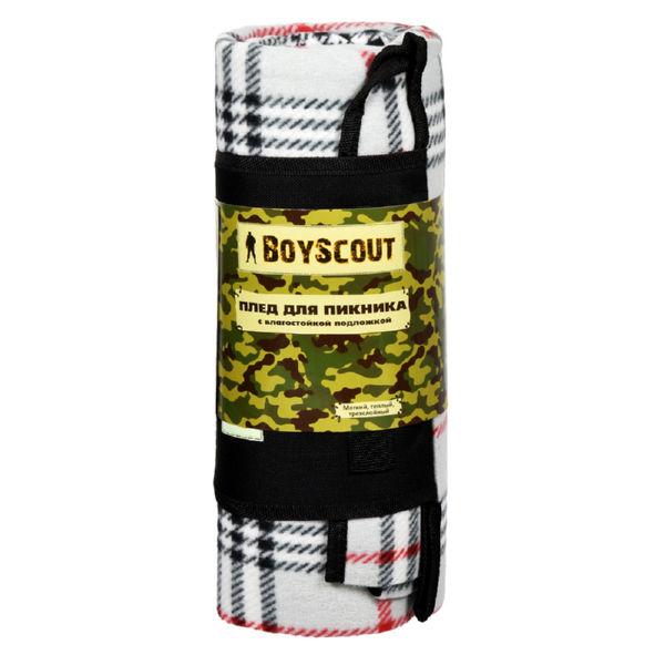 Плед Boyscout для пикника с влагостойкой подложкой (150х130 см)