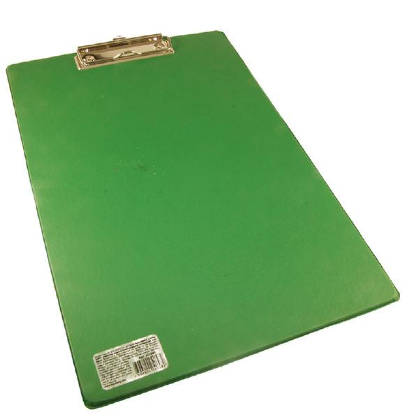Планшет Brauberg Comfort А4 бумвинил зеленый