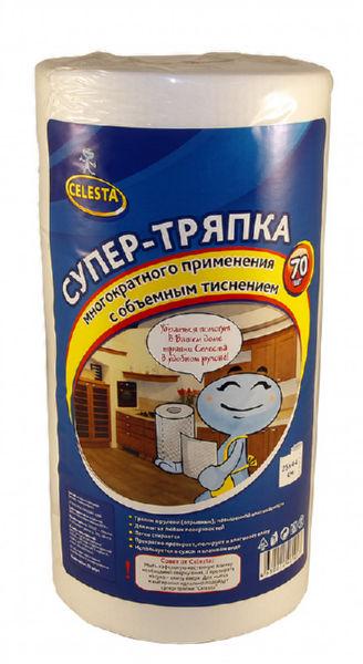CELESTA тряпка универсальная в рулоне 25х24 см (100 шт)