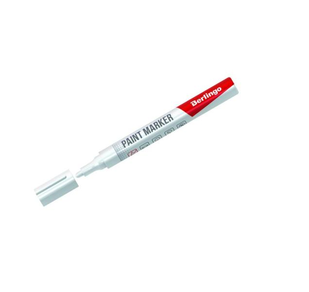 Маркер-краска Berlingo белый 2-4 мм