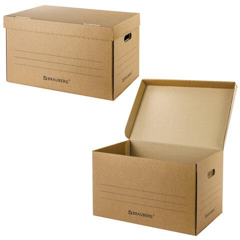 Короб архивный Brauberg (29,5х48х32,5 см) для сегрегаторов