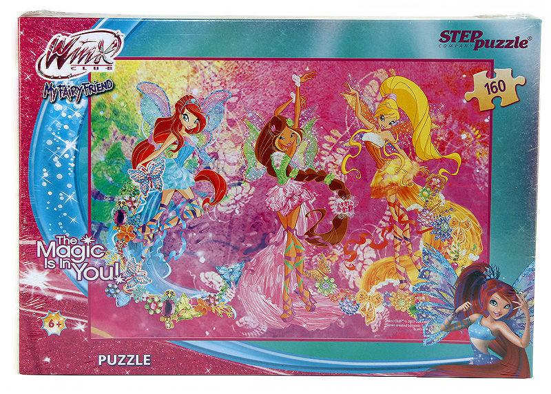 Пазлы Step puzzle 160 элементов Winx