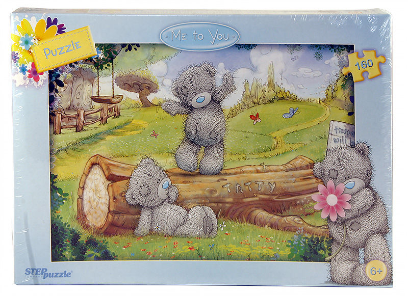 Пазлы Step puzzle 160 элементов Tatty Taddy
