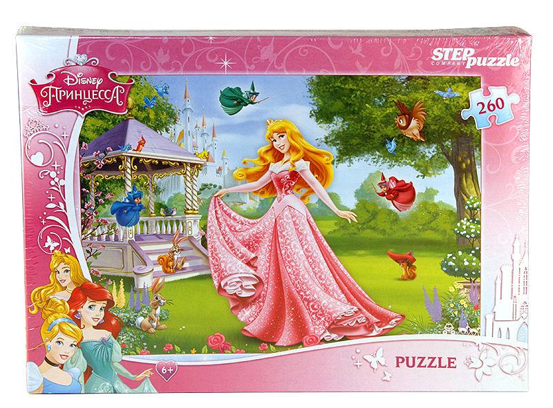 Пазлы Step puzzle 260 элементов Спящая красавица