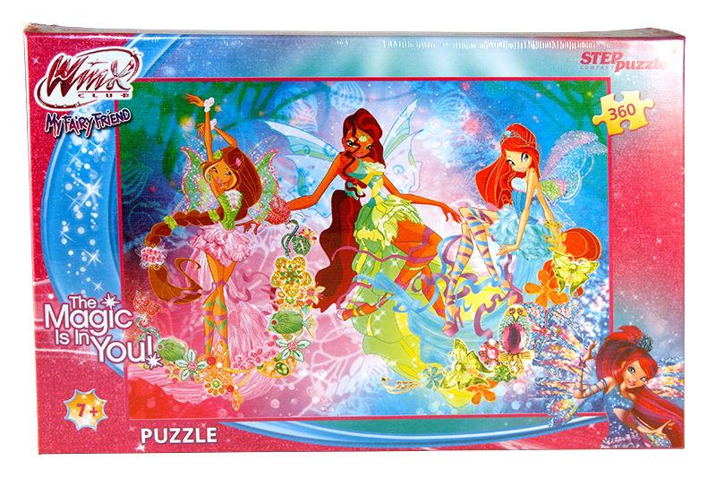 Пазлы Step puzzle 360 элементов Winx