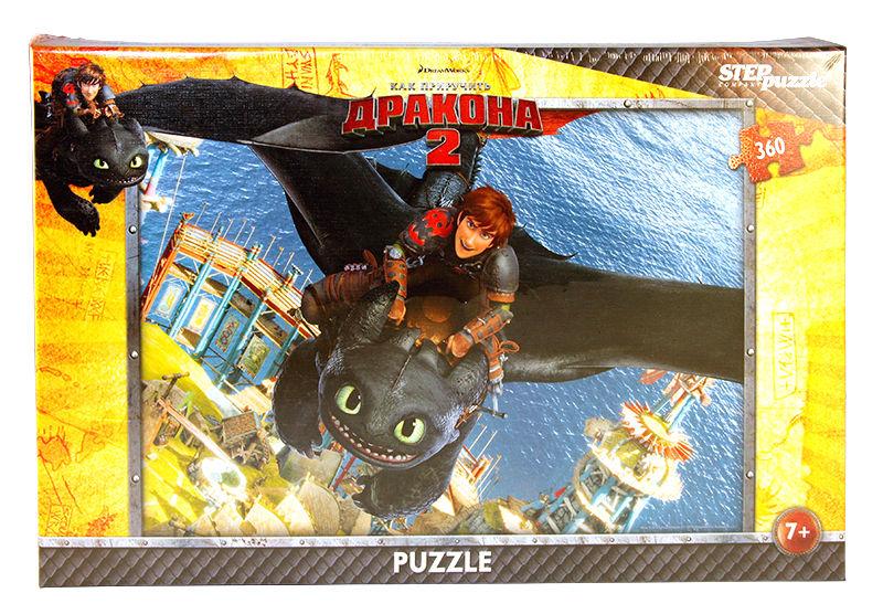 Пазлы Step puzzle 360 элементов Драконы