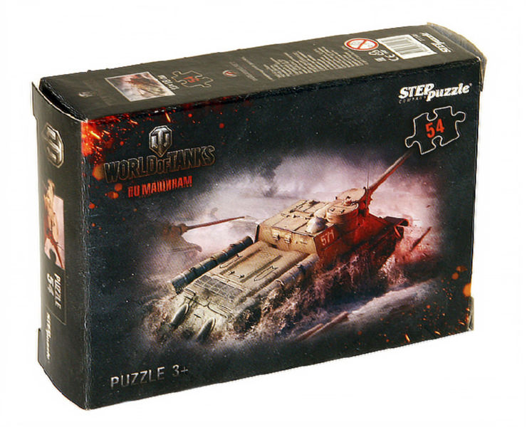 Пазлы Step puzzle 054 элемента Wargaming
