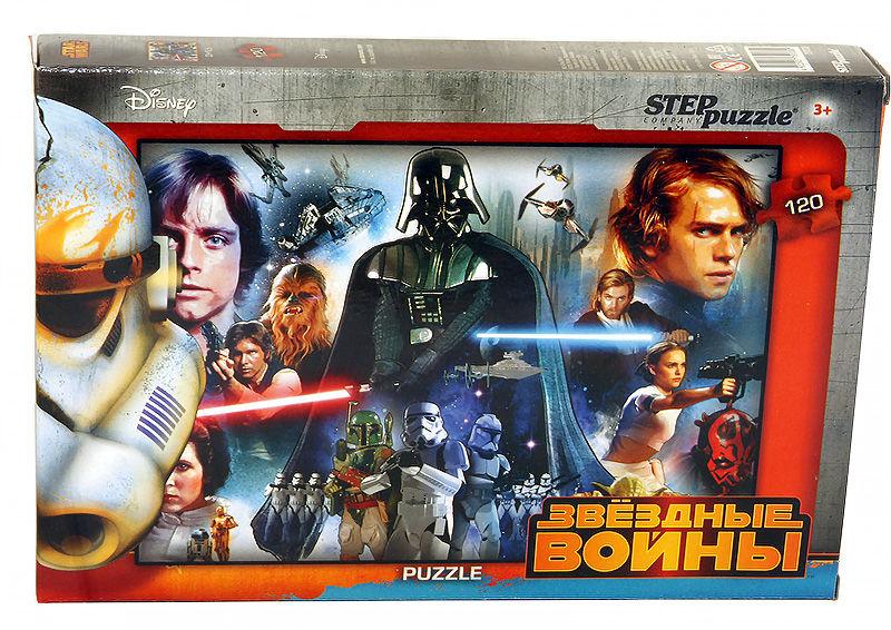 Пазлы Step puzzle 120 элементов Звездные войны