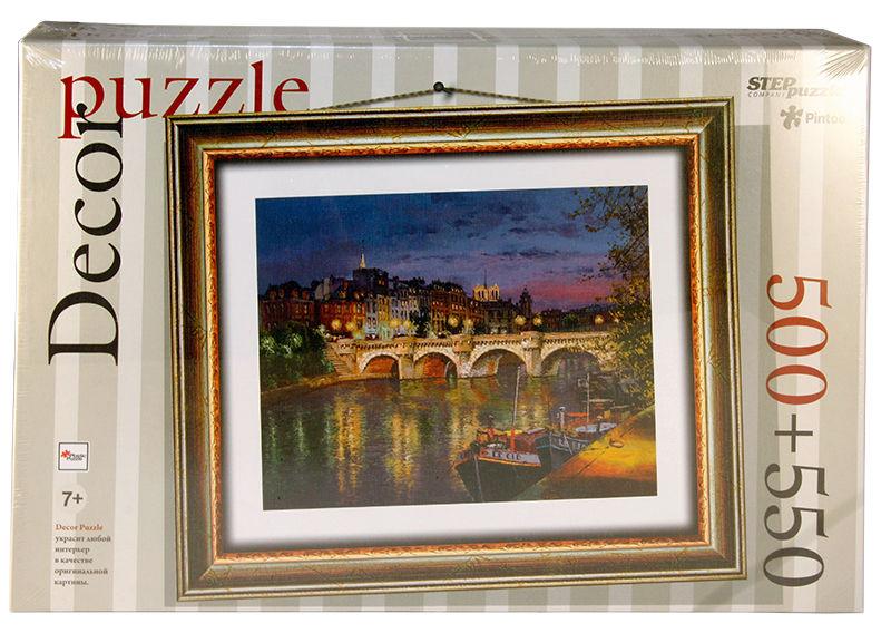 Пластиковые пазлы Step puzzle 500 элементов Париж