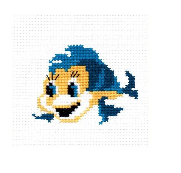 Набор для вышивания Р-Студия Рыбка 9х7 см
