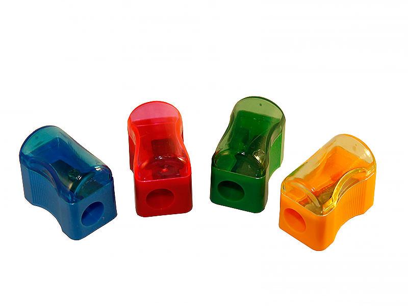 Точилка пластиковая с контейнером Centrum фигурная