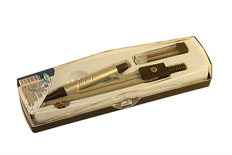 Циркуль металлический с пишущим узлом - автокарандаш