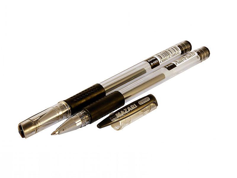 Ручка гелевая Mazari Denise черная (129)