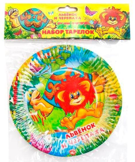 Набор из 6 - ти тарелок Веселый празник рисунок в ассортименте