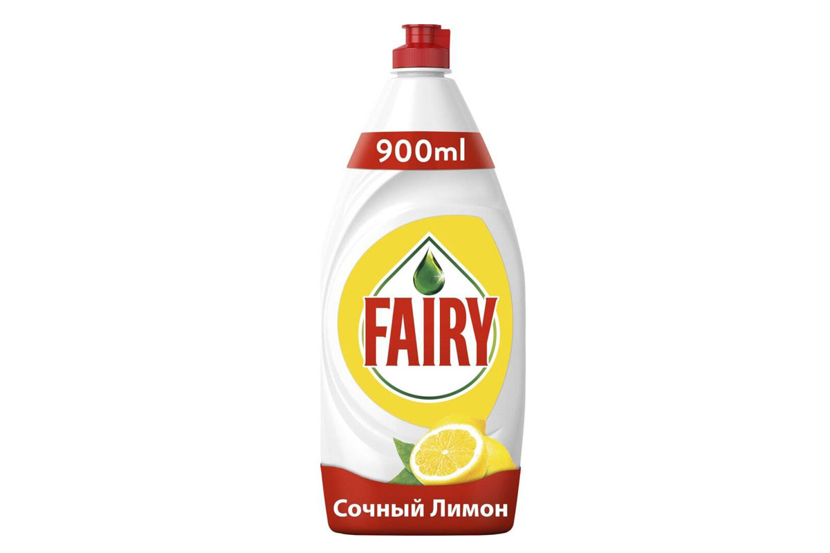 Fairy для посуды  900 мл. Сочный лимон