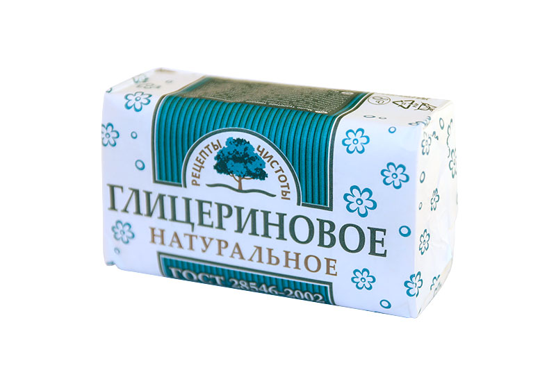 НМЖК Рецепты чистоты мыло туалетное 180г Глицериновое
