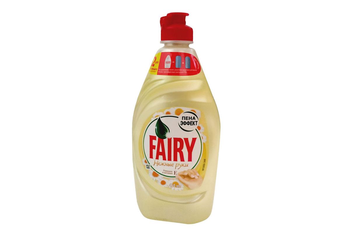 Fairy для посуды  450 мл Ромашка и витамин Е