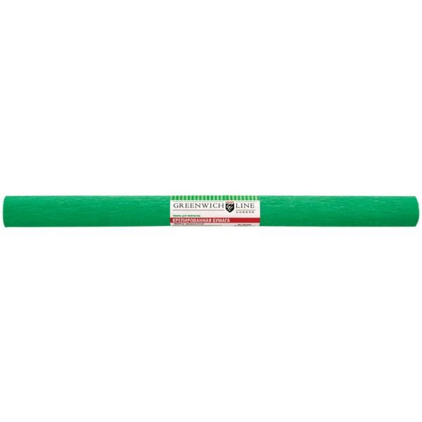 Бумага крепированная зеленая