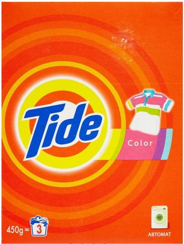 Tide Аква-пудра с/п автомат Color 450г