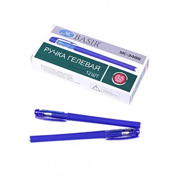 Ручка гелевая Miraculous Soft синяя
