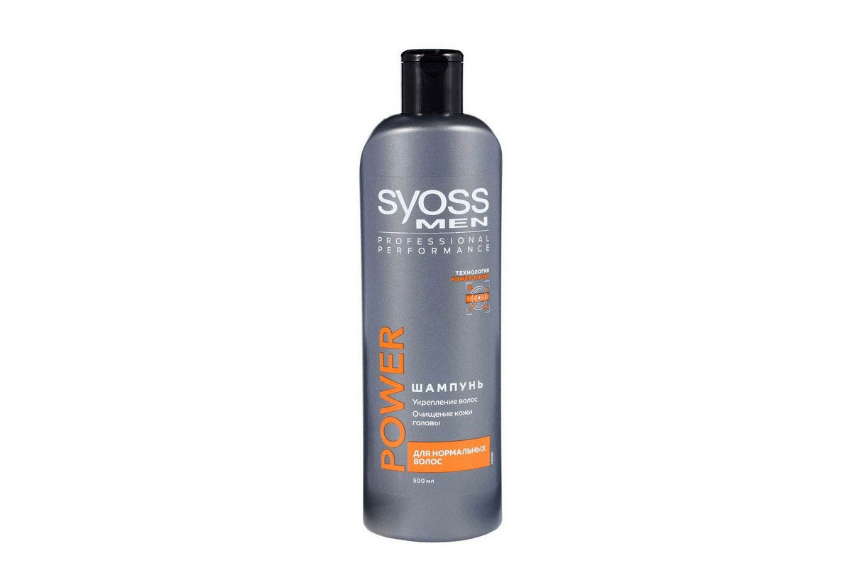 SYOSS шампунь 500 мл Men Power д/нормальных волос