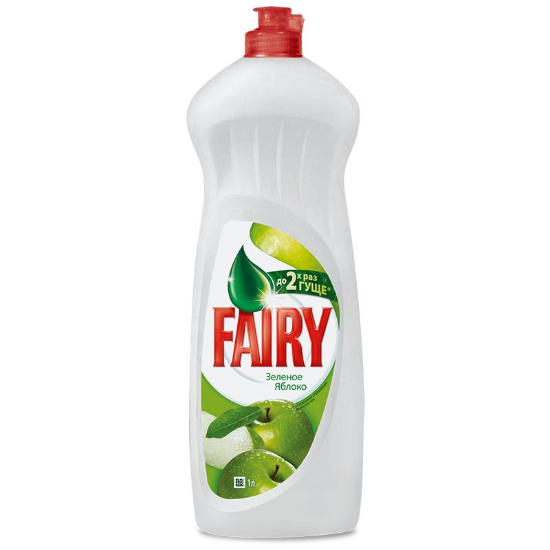 Fairy для посуды  900 мл. Зеленое яблоко